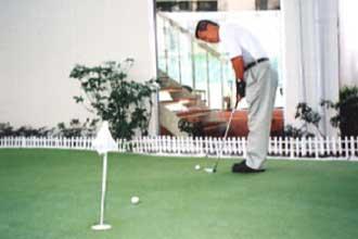 図-2 ゴルフのパッティング