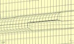 図-1 有限要素解析の一例