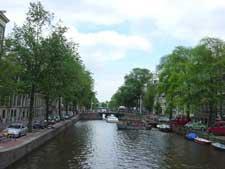 水辺の都市-アムステルダム
