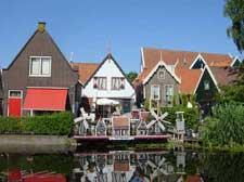 オランダの干拓地(マルケン)
