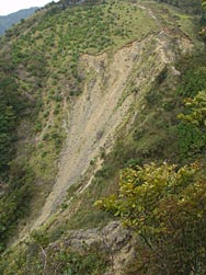 斜面崩壊の画像